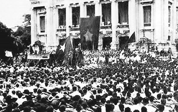 Cách mạng tháng 8 1945. Nguồn internet