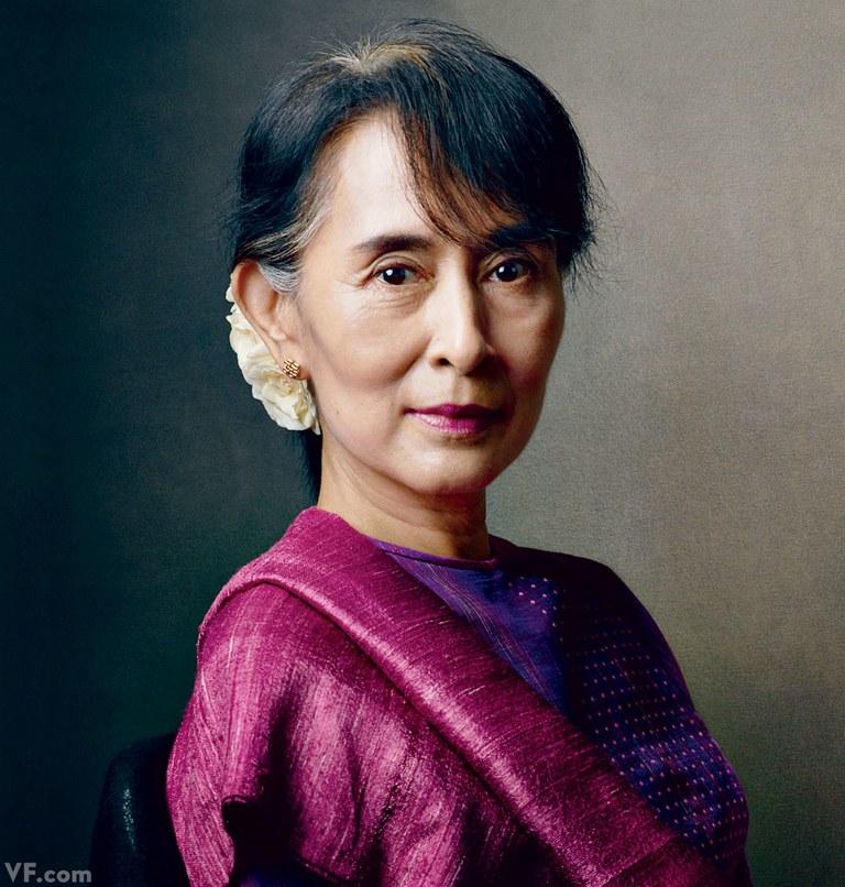 aung san suu kyi. Nguồn internet.