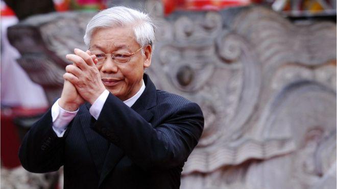 Tổng bí thư kiêm Chủ tịch nước Nguyễn Phú Trọng. Nguồn internet.