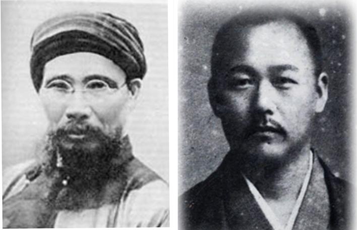Cụ Phan Bội Châu và Bác sĩ Asaba.