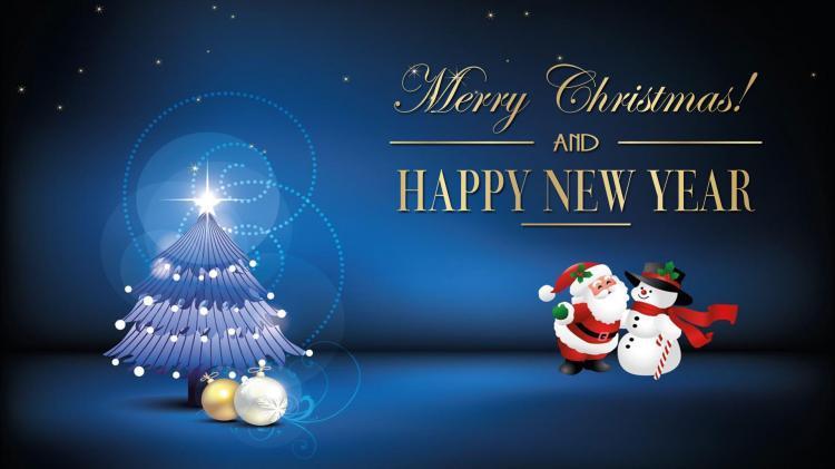 Chúc mừng Giáng Sinh và Năm Mới. Nguồn internet.