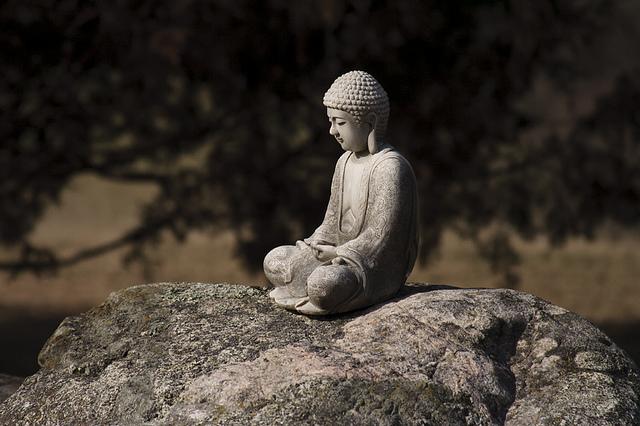 Thiền định trong Phật Giáo. Nguồn internet.