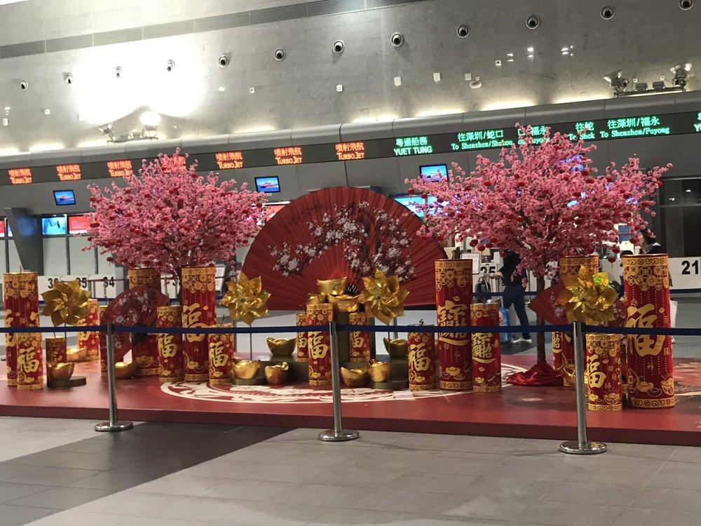 Ga Macau đón Tết Âm Lịch.