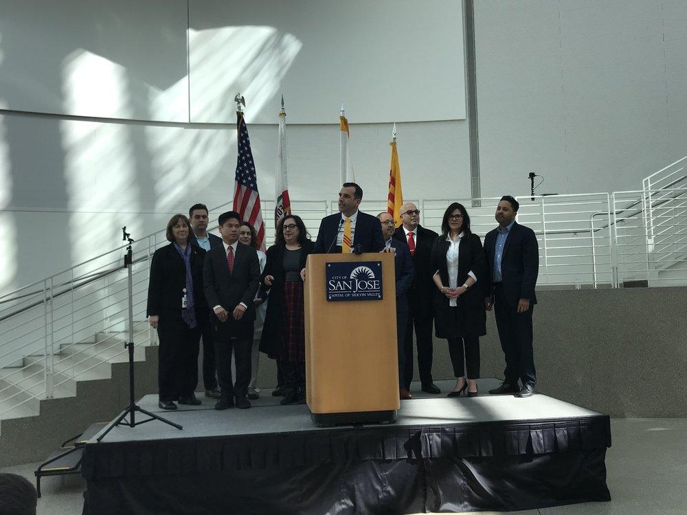 Thị trưởng San Jose và các nghị viên của các quận hạt trong thành phố San Jose.
