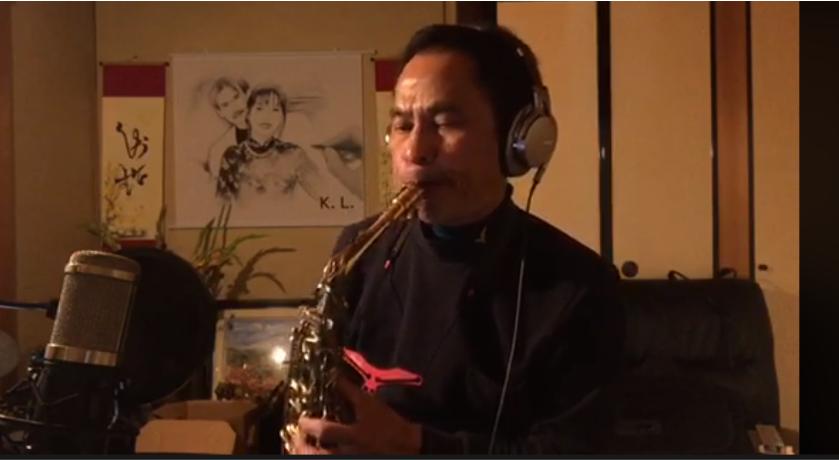 nhạc sĩ Kiên Lê Trung. Nguồn FB Huy Nguyen.