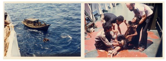 Lúc được vớt (nhận từ người bạn thân 13-7-1981)
