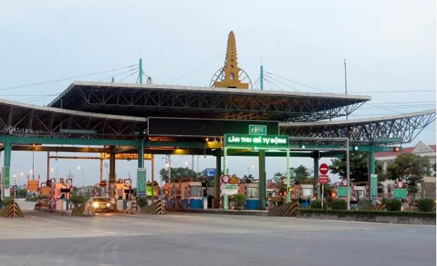 Một trạm thu phí BOT tại Việt Nam. Nguồn Tễu Blog.