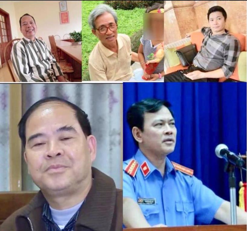 5 đảng viên dâm ô của chế độ Việt Cộng.