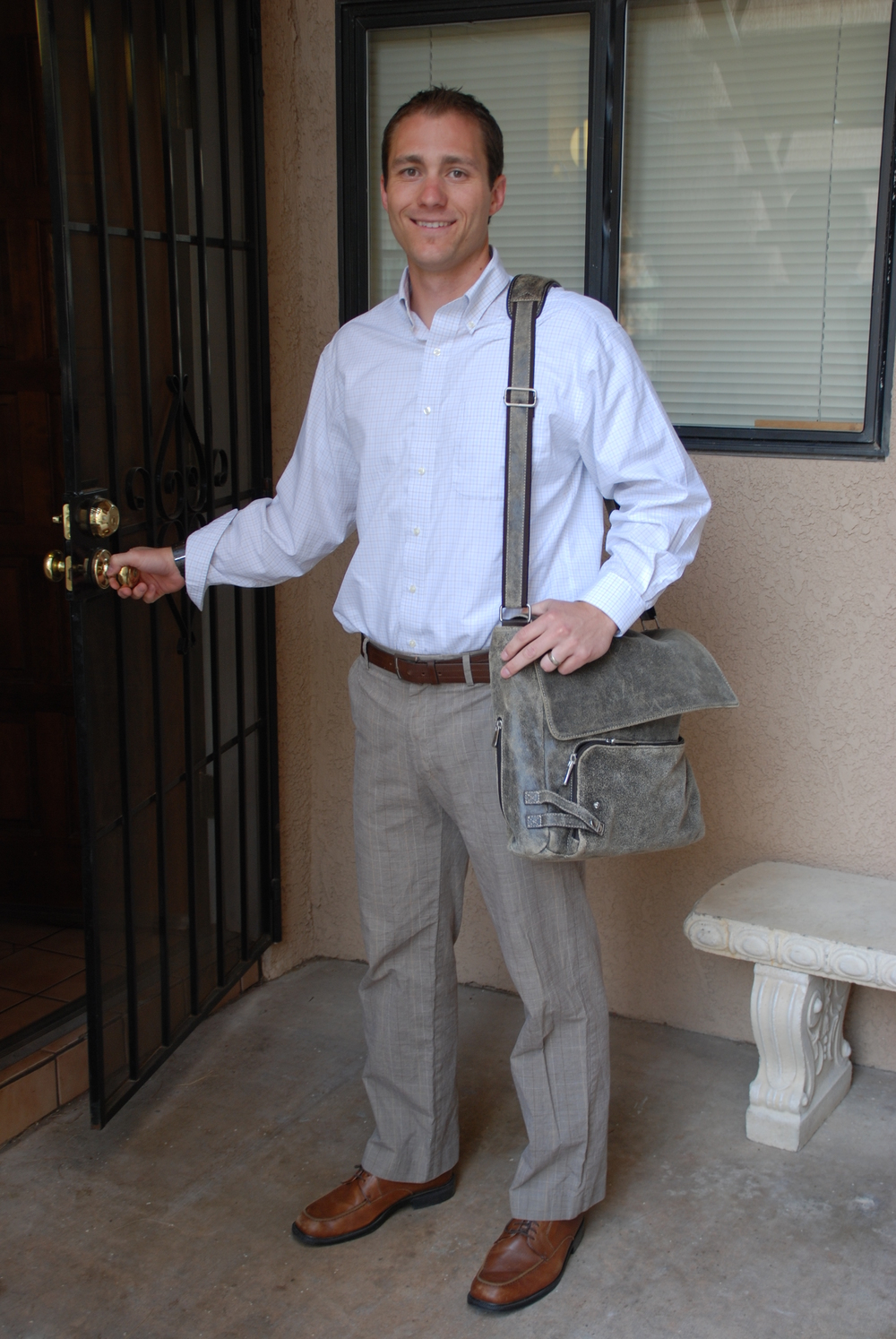 First Day of Work on June 1, 2011 in Tucson, AZ at new Life Bible Fellowship Church.