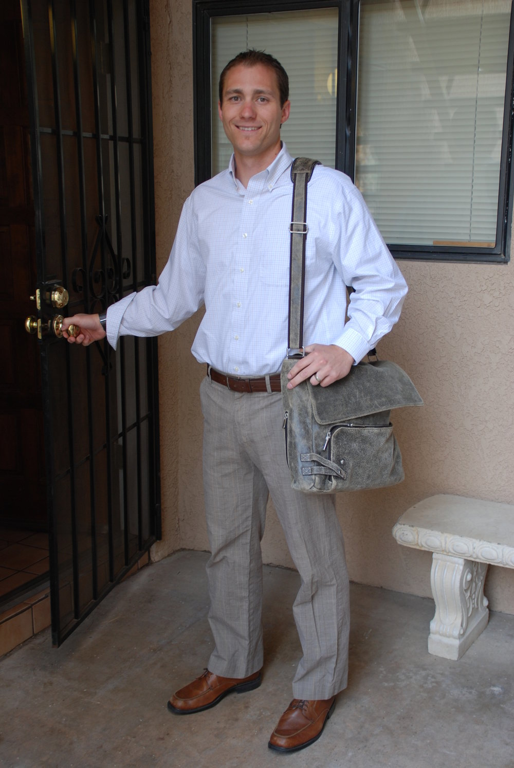 My first day of work at New Life Bible Fellowship in Tucson, AZ on June 1, 2011.