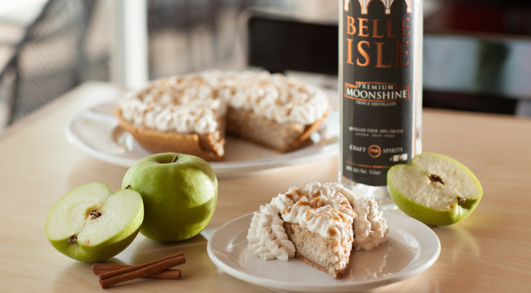 Belle Isle Apple Cheese Cake Pie