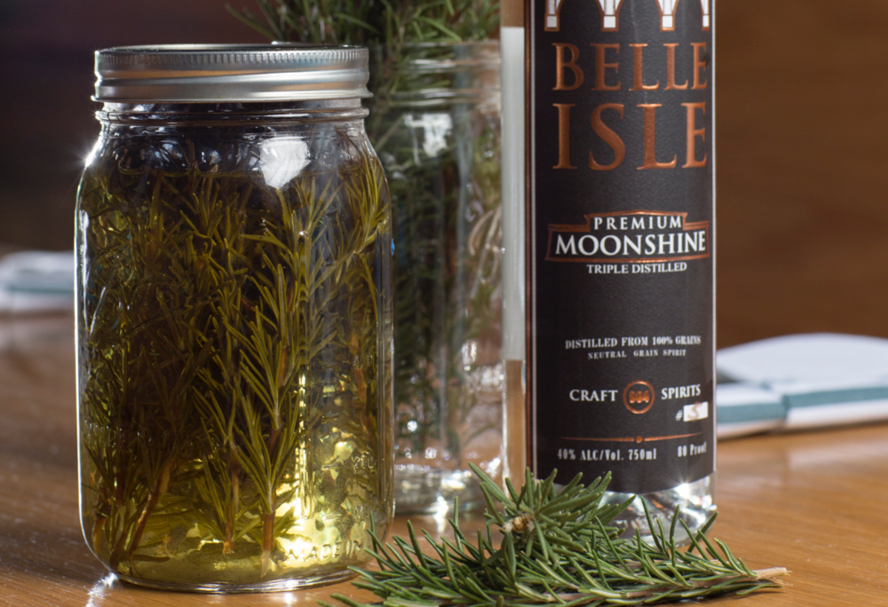 Rosemary Infused Moonshine