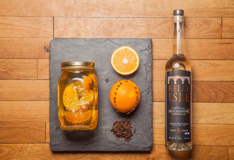 Orange Clove Infusion Ingredients