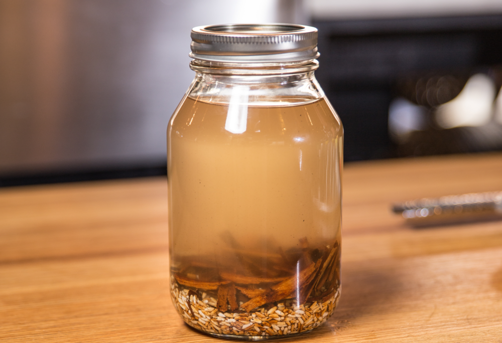 Rice & Spice Infused Moonshine