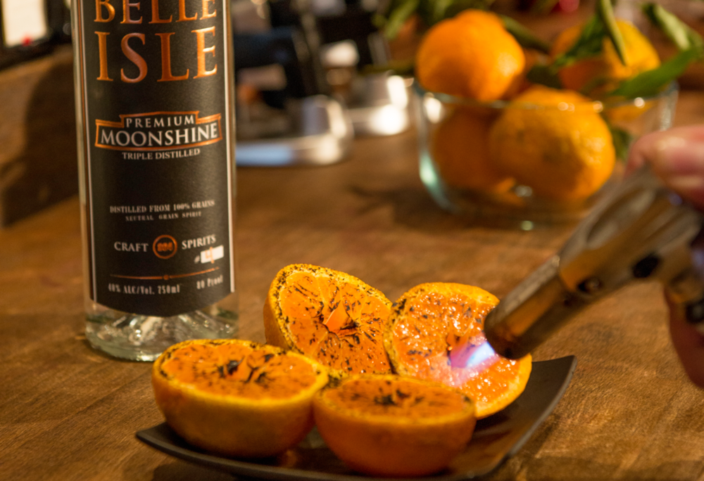 Charred Satsuma & Cinnamon Moonshine Infusion Intro