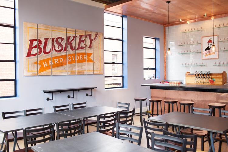 Tasting Room Buskey Cider Belle Isle Moonshine