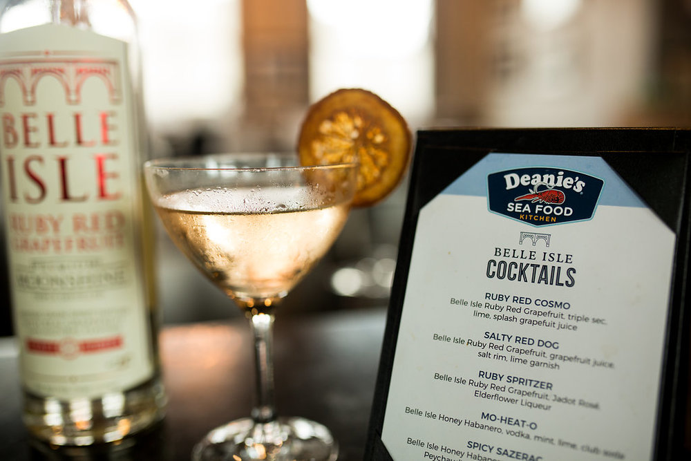 Try one of their Belle Isle cocktails today!