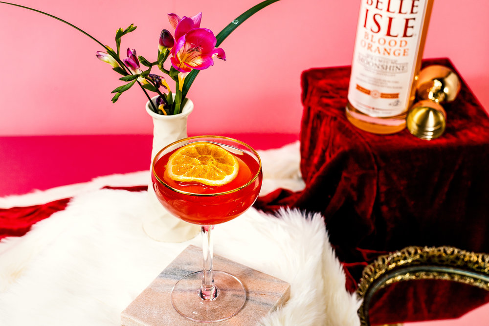 Blood Orange Cosmo  = the reigning kween of cranberry juice cocktails.
