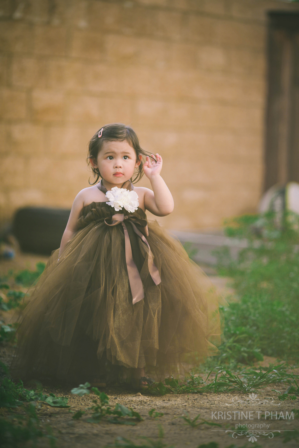 San Diego Children Photographer.  Tutu Session