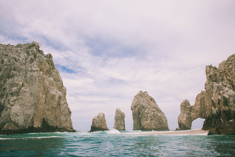 The Arch of Cabo San Lucas