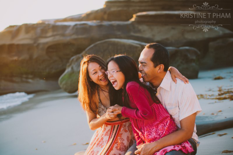 San Diego Holiday Family Portrait Session