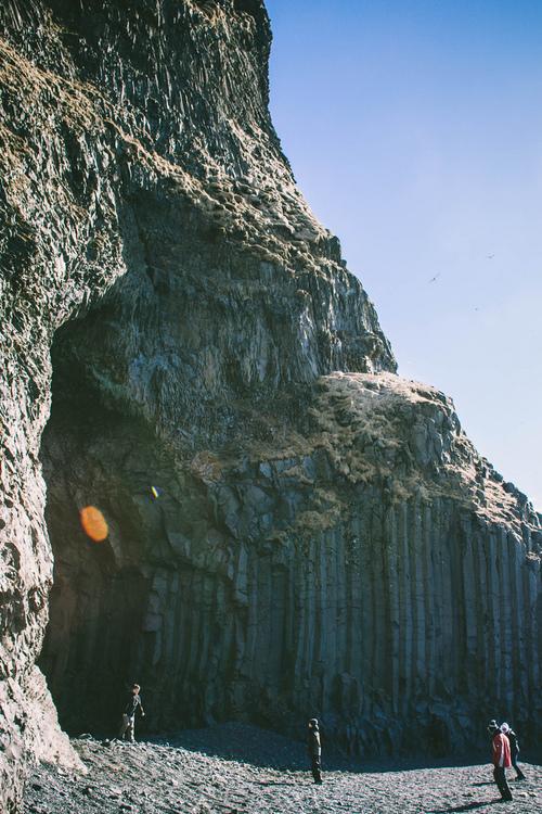 Hálsanefshellir Cave, Vik, Iceland
