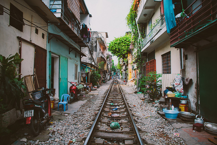 Railway in Ha Noi