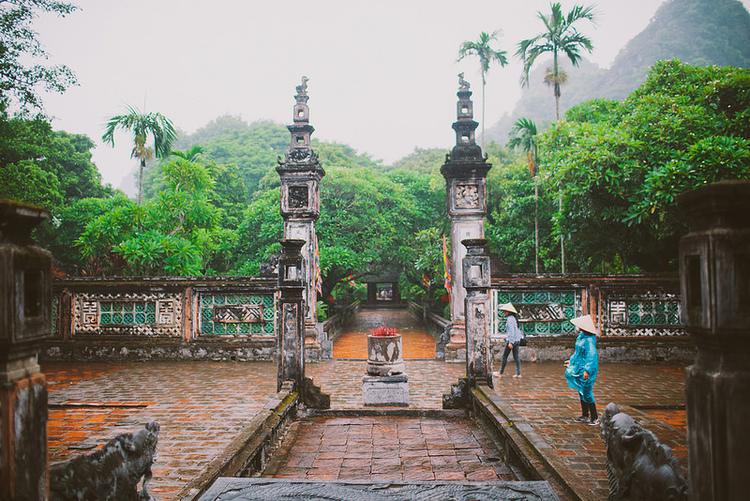 Hoa Lu Temple in Ninh Binh