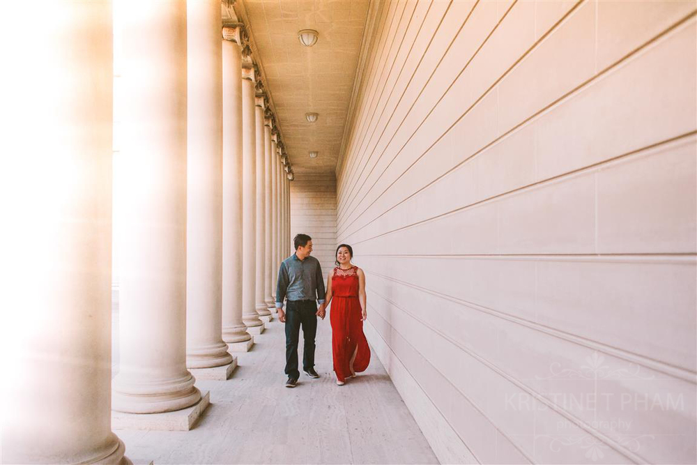 STEPHANIE & WAI'S LEGION OF HONOR ENGAGEMENT SESSION