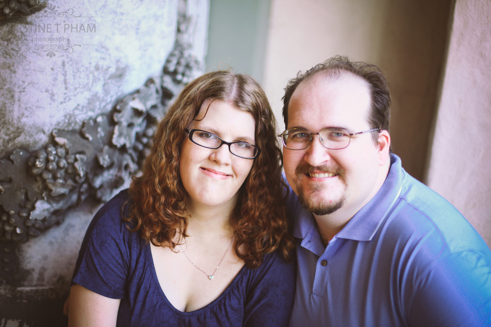 JESSICA & JON'S BALBOA PARK ENGAGEMENT SESSION