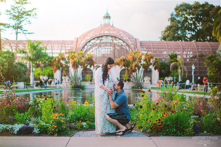 DELIA & CHRIS' BALBOA PARK GENDER REVEAL SESSION