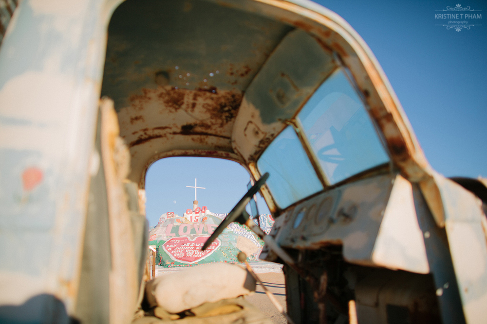 The Salvation Mountain