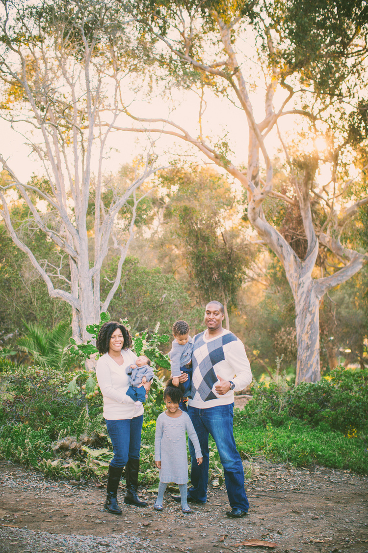 THE BLAIRS - FAMILY PORTRAIT SESSION AT EL PRESIDIO SAN DIEGO