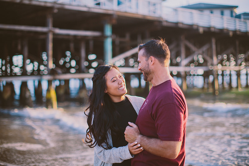 JAN & STEVE'S PACIFIC BEACH ENGAGEMENT SESSION