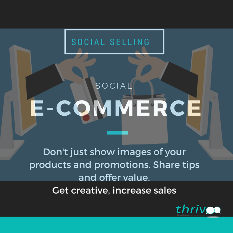 SOCIAL SELLING E-COMMERCE