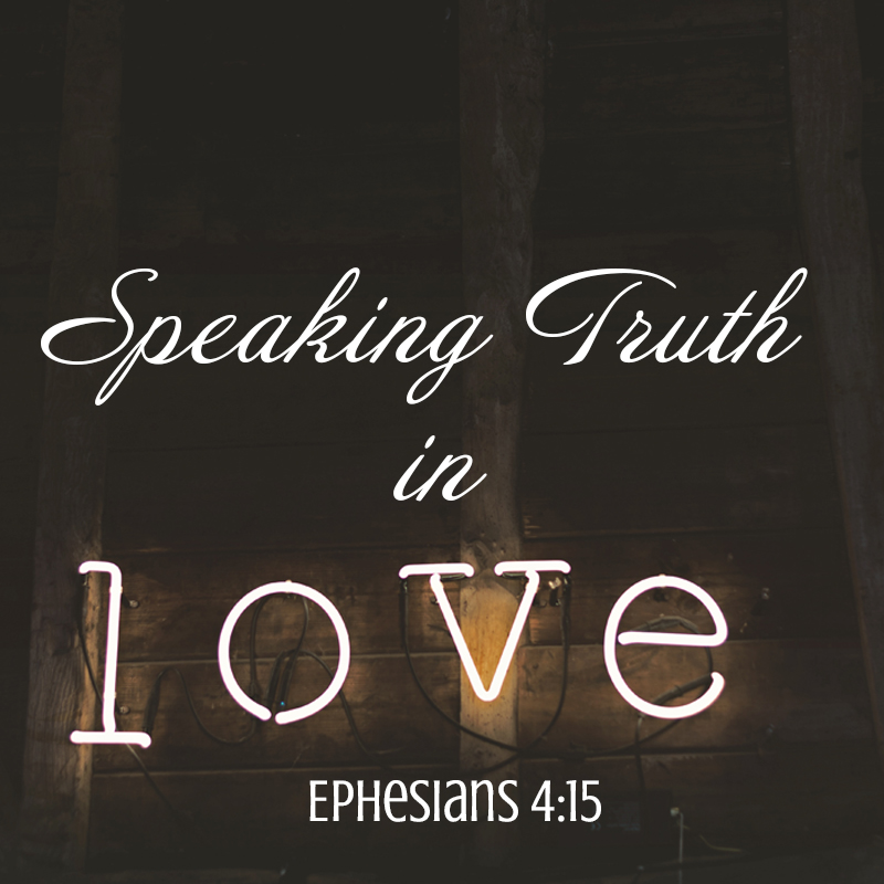 But instead we will remain strong and always sincere in our love as we express the truth.  Ephesians 4:15 (TPT).  Photo by  Jez Timms  on  Unsplash
