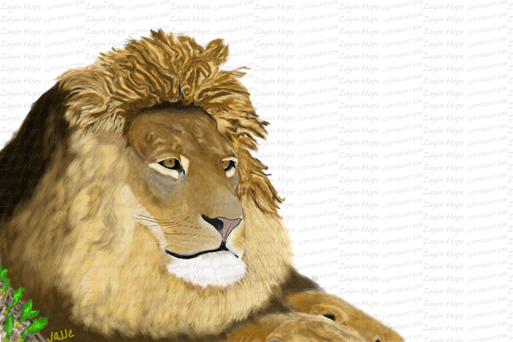 Power Symbol: The Bridegroom Lion and His Seeds of Life.
