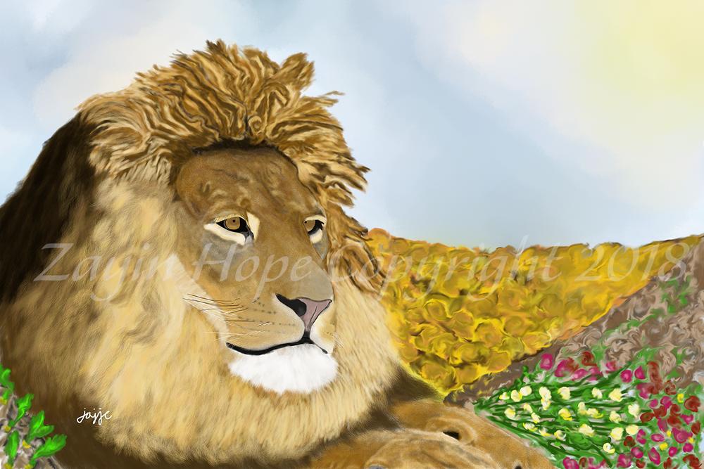 The Bridegroom Lion