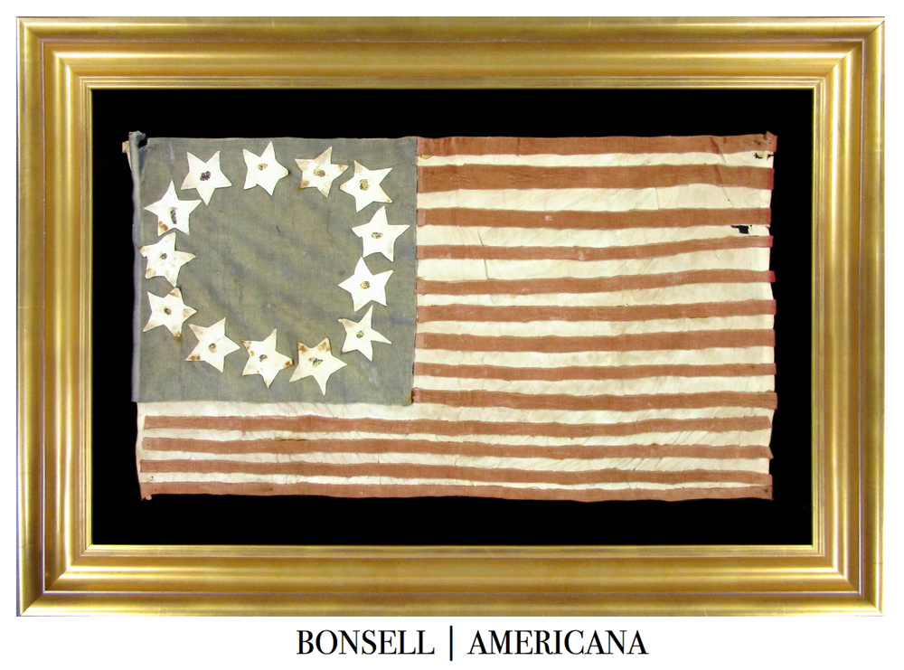 Betsy Ross Antique Flag