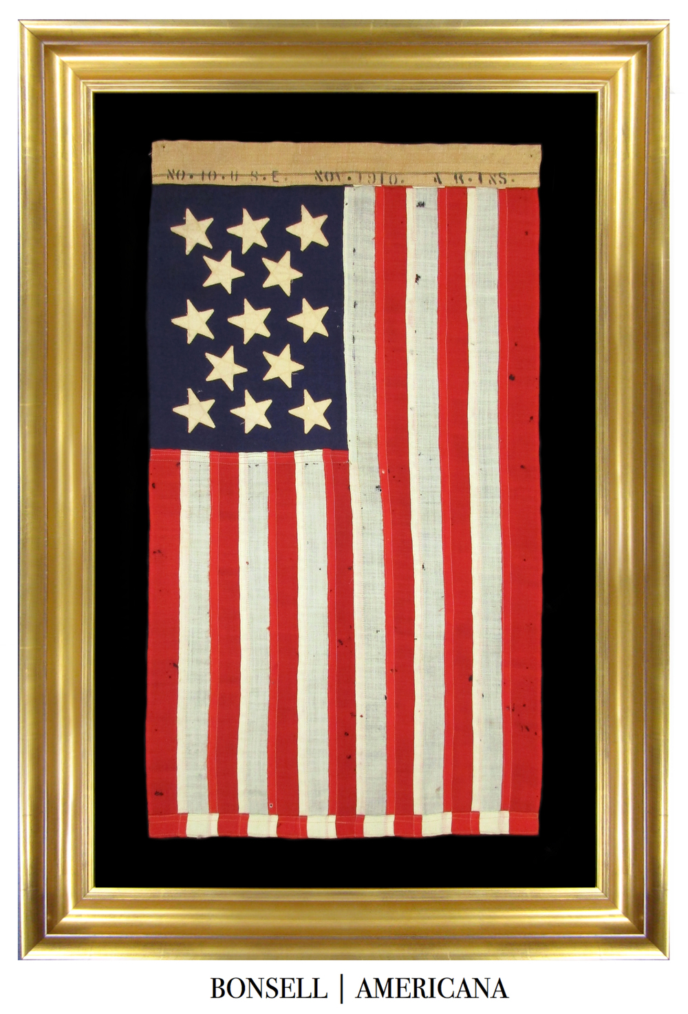 13 Star Antique Ensign