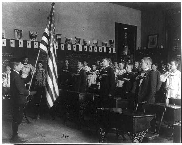 Pledge Allegiance to the Flag | Circa 1899