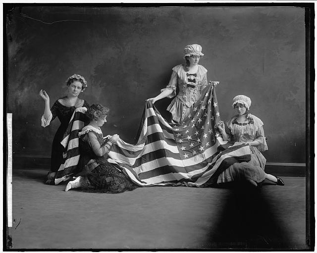 Birth of the American Flag | Circa 1905