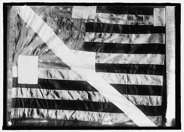 Flag Raised at the North Pole by Peary | Circa 1908