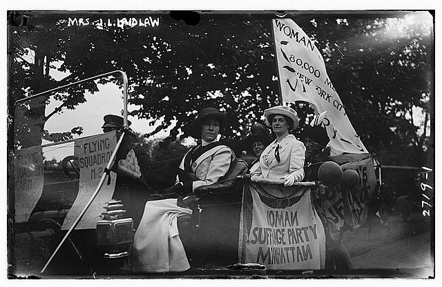 Suffragette Mrs. J.L. Laidlaw | Circa 1910