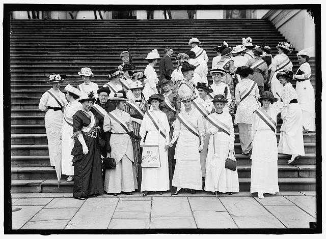Suffragettes at the Nation's Capital | Circa 1914