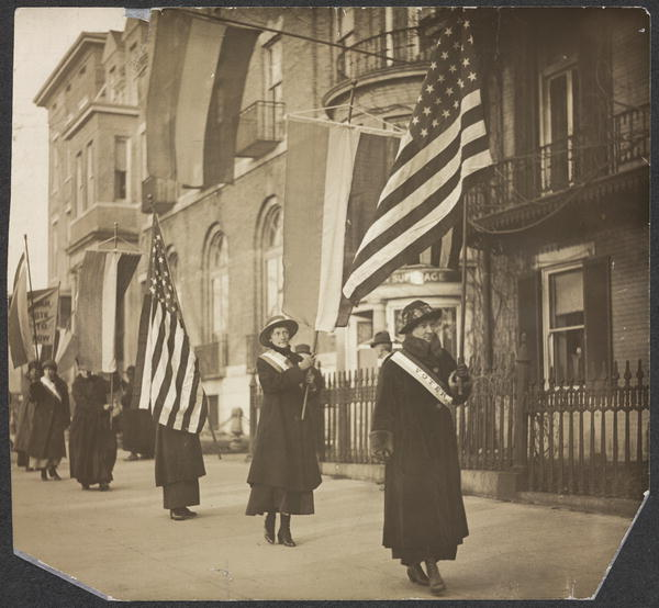Women Voters Day on the Picket Line | Circa 1917