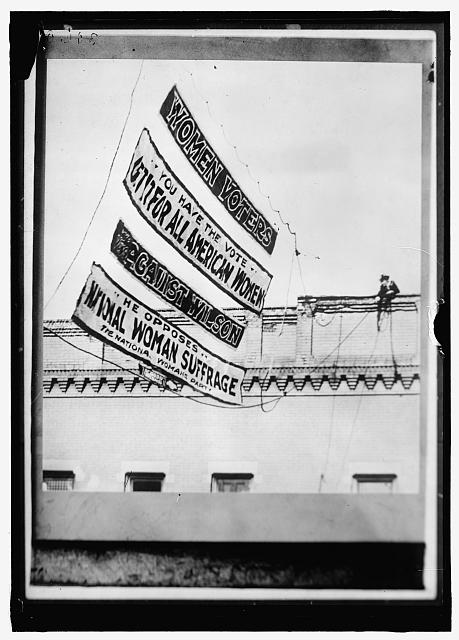 Women's Suffrage Banners | Circa 1919
