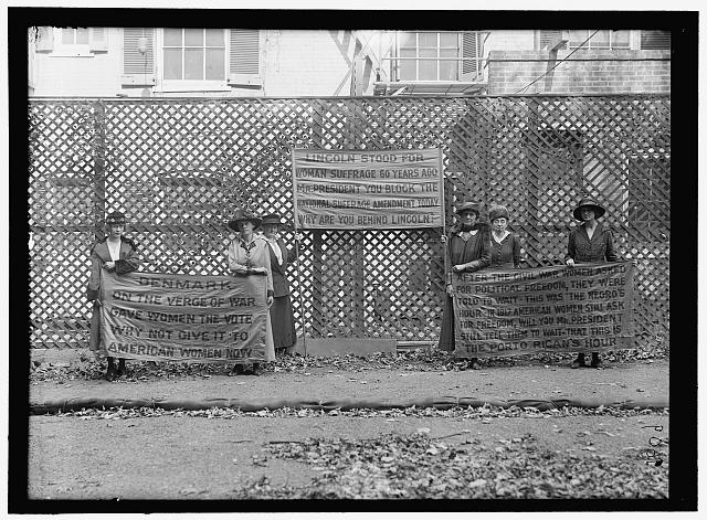 Women's Suffrage Pickets | Circa 1917