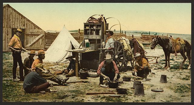 Cowboys in Colorado | Circa 1898