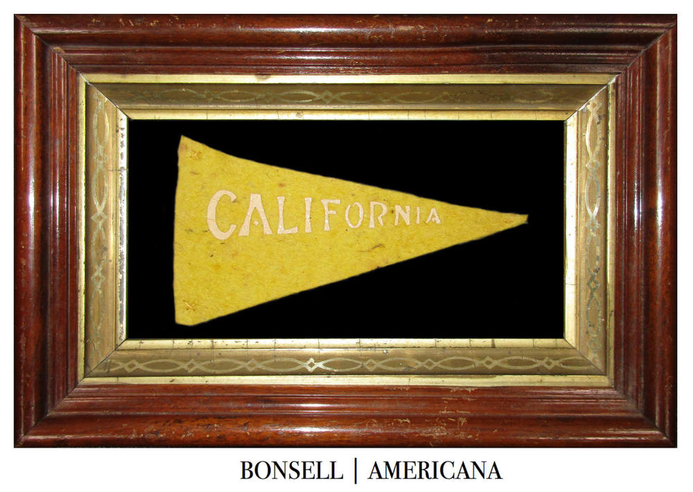 Antique California Pennant